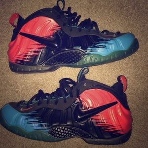 Pair of Spider-Man foamposits